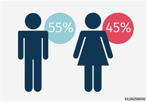 Gender Based Data Infographic With Pictogram People And Building Icons Buy This Stock Template Gender Infographic Template