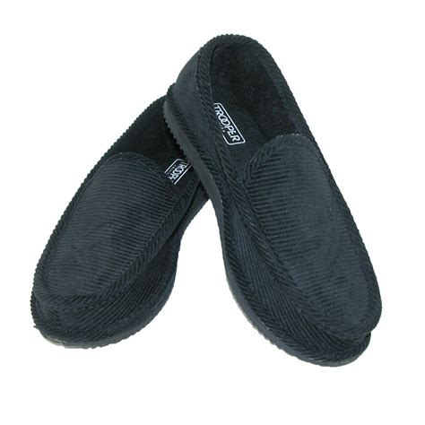 trooper house shoes mens corduroy slip on slippers by trooper america men s slippers at beltoutlet com
