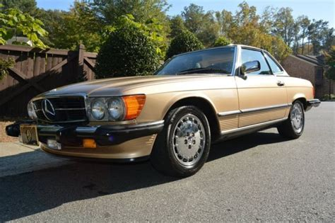 auto body repair training 1988 mercedes benz sl class on board diagnostic system 1988 mercedes benz 560sl sl 111032 miles gold 2d coupe roadster 8 auto for sale mercedes benz