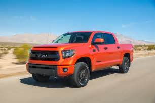 Toyota Tunsra 2015 Toyota Tundra Trd Pro Priced At 42 385 Motor Trend Wot