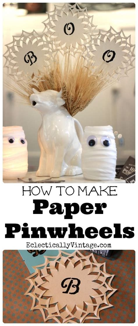 How To Make Paper Pinwheels - 25 best ideas about paper pinwheels on paper