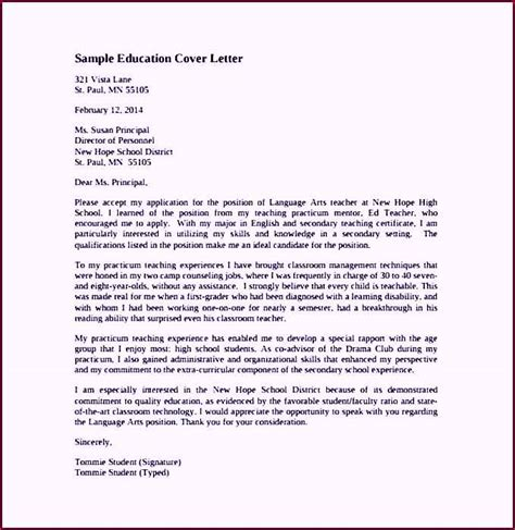 cover letter academic mentor cover letter sle pdf template free