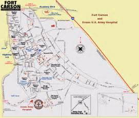 fort carson colorado map ft carson meddac inprocessing