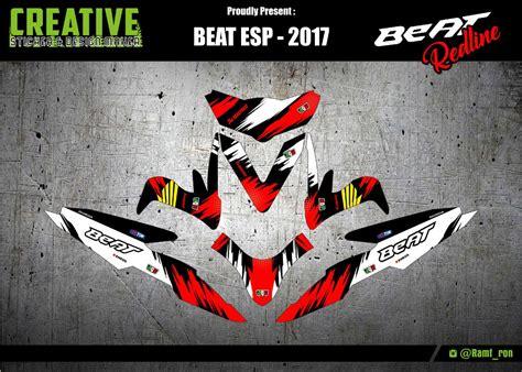 Keranjang Beat jual decal beat esp 2017 di lapak crown sticker ronald amf