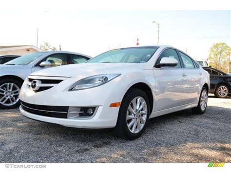 2012 Mazda6 I Touring by 2012 White Platinum Pearl Mazda Mazda6 I Touring Sedan