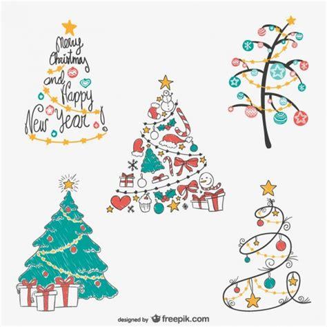 pack de dibujos de 225 rboles de navidad de colores