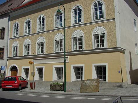hitler born town hitler s birthplace in braunau am inn austria