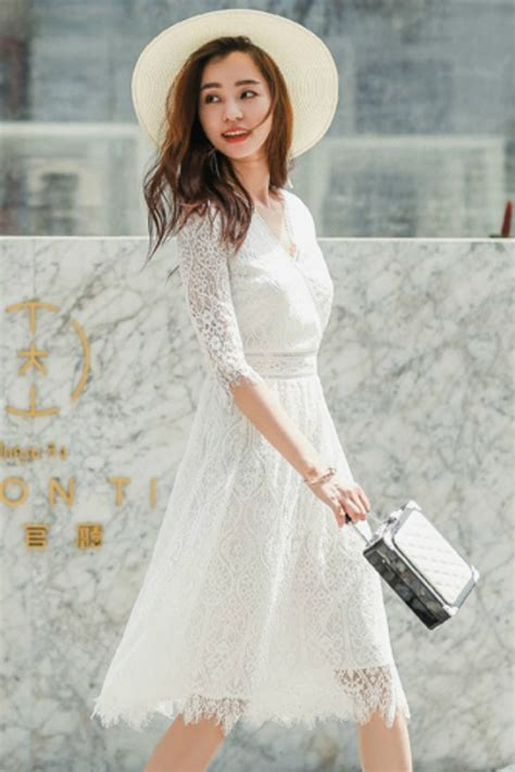 Dress Import Merk R J Story dress lace mango zara baju korea asli rj story dress