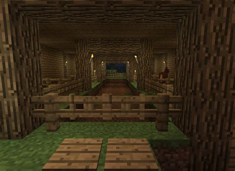 House Rules Design App by Horse Stable Survival Mode Minecraft Java Edition