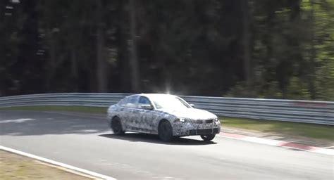 Test Bmw 3 Series 2019 by 2019 Bmw 3 Series Spied Testing At The Nurburgring