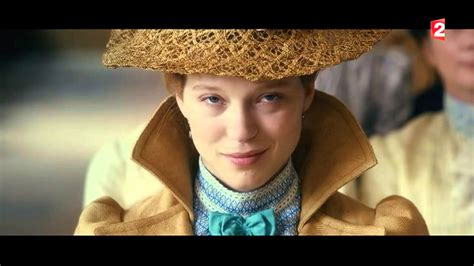 lea seydoux interview interview l 233 a seydoux for france 2 youtube