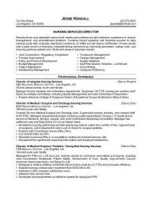 Nursery Resume Sle India Ambulatory Nursing Resume Sales Nursing Lewesmr