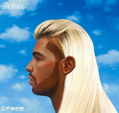 see drake s nothing was the same album cover with crazy drake s nothing was the same cover in different hairstyles