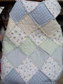 Handmade Baby Blanket Ideas - gift upcycled receiving blankets to baby quilt