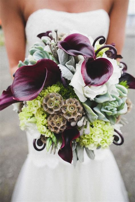 Wedding Bouquets Using Calla Lilies by From Pastels To Vibrant Hues 15 Most Beautiful Calla