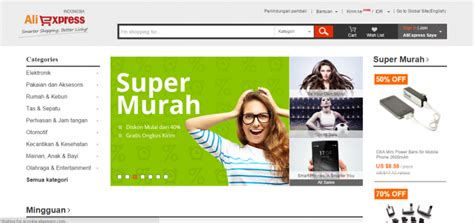 aliexpress tokopedia 5 online marketplaces that compete with tokopedia