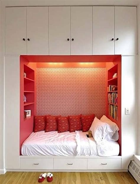 built in bed small bedroom ideas built in bed for the home