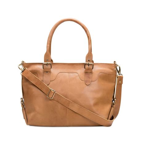 Buckle Bag leather buckle tote bag by the leather store