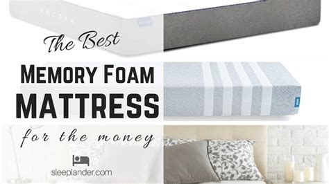 best bed for the money best memory foam mattress for the money you can buy online