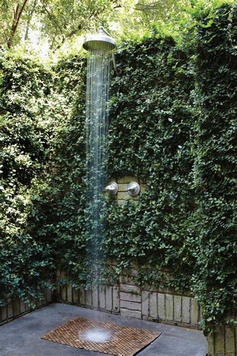 outdoor showering outdoor shower garden living repinned by