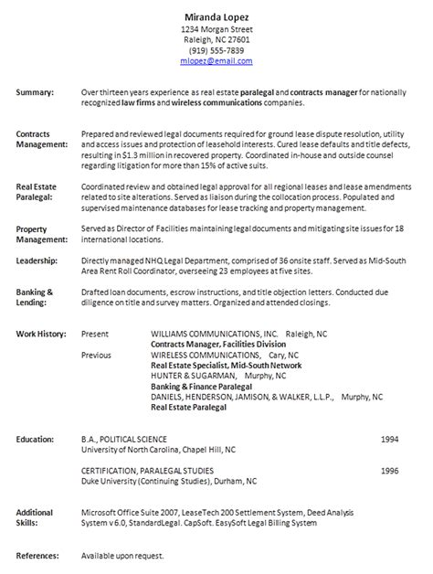 exle resume resume format lot of history