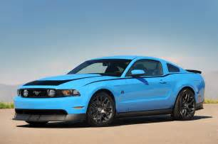 Ford Grabber Blue Photo Gallery Ford Mustang Rtr In Grabber Blue Mustangs