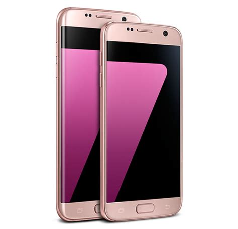 samsung introduces pink gold galaxy s7 and galaxy s7 edge