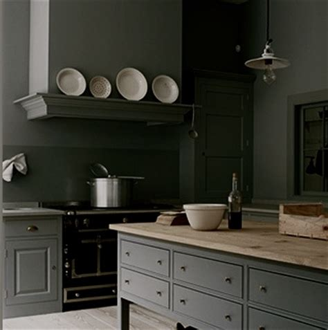 grey country kitchen from plain english kitchen design plain english kitchen in dark gray with black aga