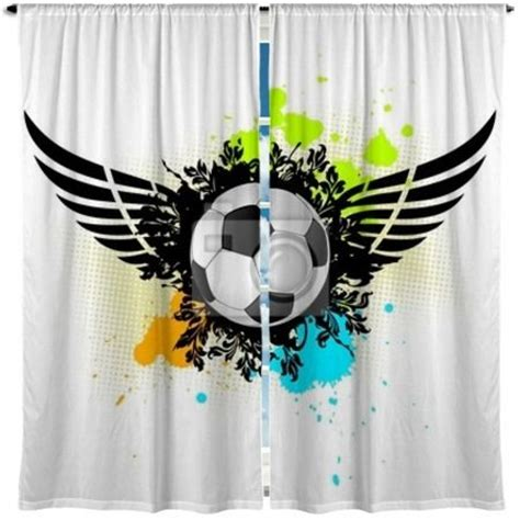 soccer curtains 1000 images about soccer home decor on pinterest fields