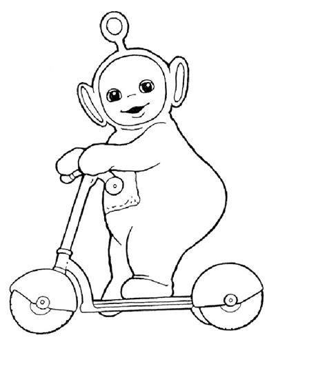 Printable Teletubbies Coloring Pages Coloring Me Teletubbies Coloring Page