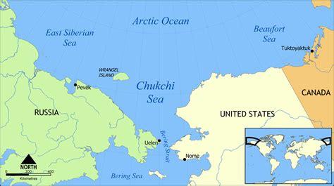 sea map file chukchi sea map png