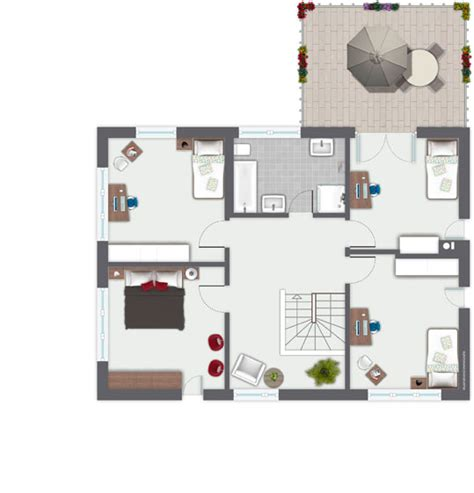 Musterhäuser Amerikanischer Stil by Grundriss Haus Amerikanischer Stil Haus Bauen