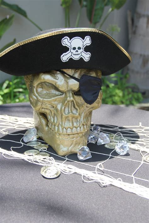 d s skull pirate centerpieces damon s pirate pool