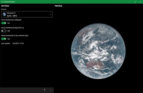 live wallpaper earth windows 7 get real time images with live orbital wallpapers on