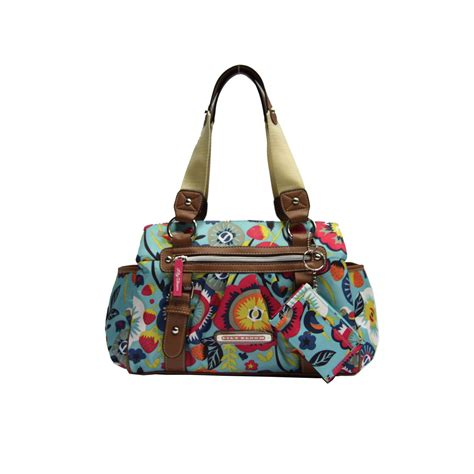 lily bloom triple section satchel lily bloom women s triple section satchel bag 239 191 189 floral print