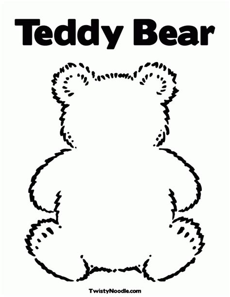 teddy bear head coloring page teddy bear silhouette az coloring pages
