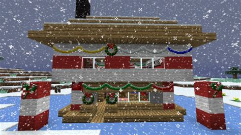 minecraft christmas house merry christmas minecraft 1 4 6 is out now pcgamesn