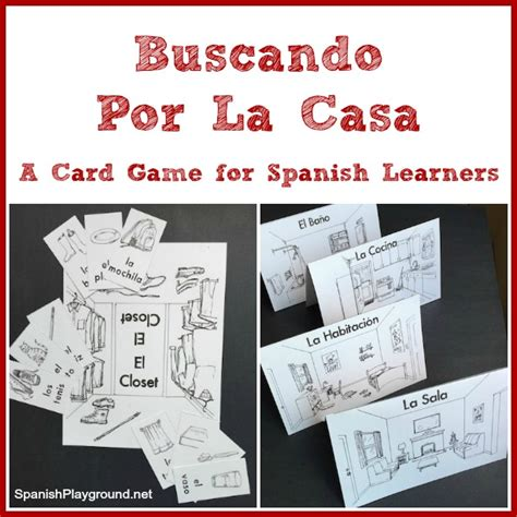 printable spanish board games printable spanish card game for house vocabulary spanish