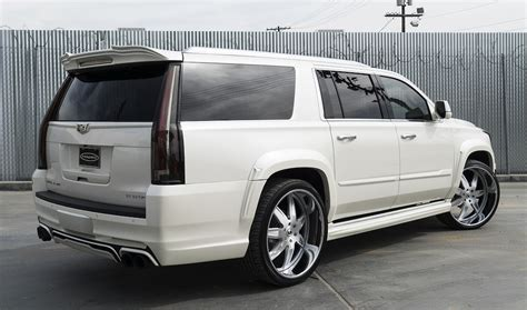 cadillac escalade custom custom cadillac escalade by forgiato