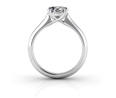 Side Ring timeless trellis solitaire ring betterthandiamond