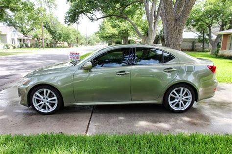 Lexus Is250 For Sale By Owner by Buy Used Clean 2 Owner 2007 Lexus Is250 Desert