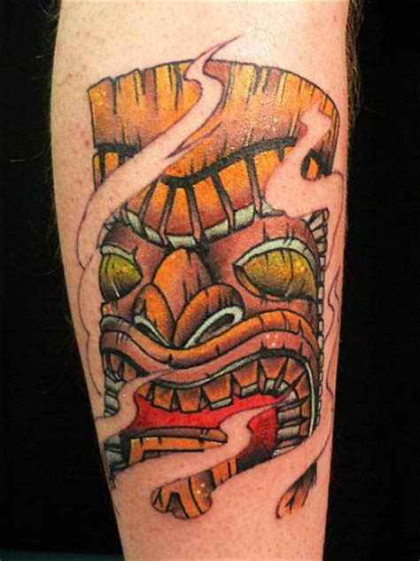 tiki head tattoo designs mask tattoos and designs page 3