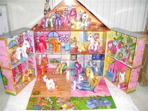 my little pony dolls house got a dollhouse for my ponies warning many pics p my little pony trading post