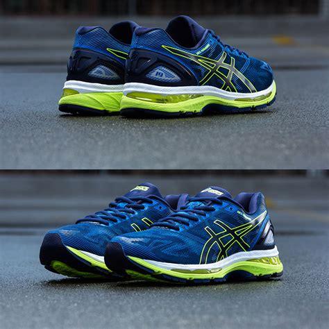 Sepatu Asics Gel Nimbus 19 trendy asics gel nimbus 19 running shoes ss17 blue on clearance
