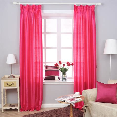 pink curtains for bedroom appealing grey accents wall painted in bedroom idea with