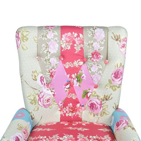 Upholstery Fabric Patchwork - patchwork armchair fabric upholstery vidaxl