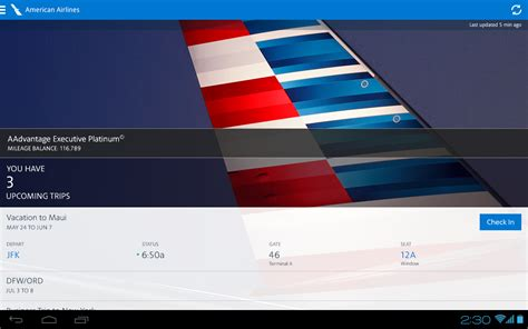 aa apk american airlines android apps on play
