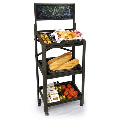 Wood Cl Rack by Store And Commercial Display Baskets The Lucky Clover