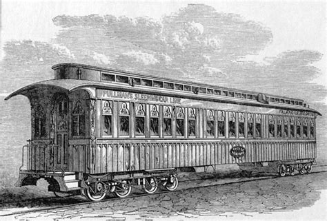 Pullman Sleeper Car by Design Decoded Traveling In Style And Comfort The