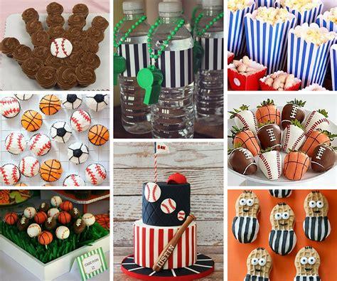 sports themed birthday decorations sports ideas boys ideas at birthday in a box